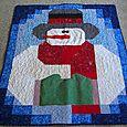 Mr. Snowman quilt